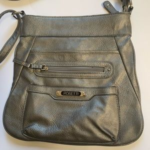 Rosetti Bronze Crossbody Bag